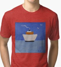 Premier bateau Tri-blend T-Shirt
