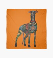greyhound orange Scarf
