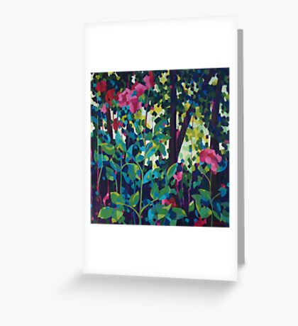 Singing With Grace Greeting Card