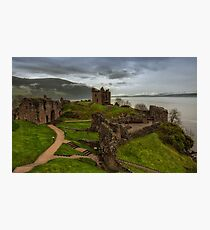 Urquhart Castle on Loch Ness Photographic Print