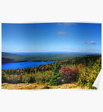 Touch Of Fall On Eagle Lake Poster