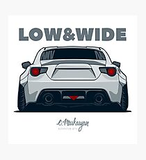 Low & Wibe GT86 Photographic Print