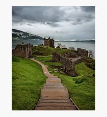 Urquhart Castle on Loch Ness 2 Photographic Print