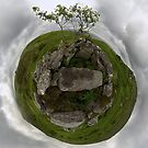 Tomb: Croaghbeg Court Tomb, Shalwy Valley, Donegal by George Row