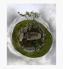 Tomb: Croaghbeg Court Tomb, Shalwy Valley, Donegal Photographic Print