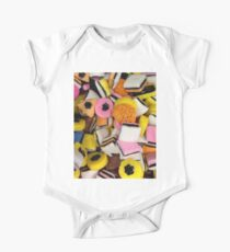I love Licorice retro halloween licorice candy  Kids Clothes