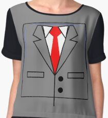 I am President Business Chiffon Top