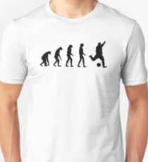 Evolved to play Soccer Slim Fit T-Shirt