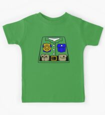 Cop Policeman Minifig Kids Clothes