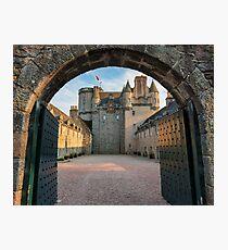 Castle Fraser - Aberdeenshire Photographic Print