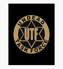 UTF – Undead Task Force, Caity Lotz Photographic Print
