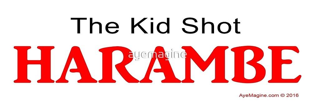 The Kid Shot Harambe by ayemagine