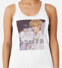 Picasso Of Exo Racerback Tank Top