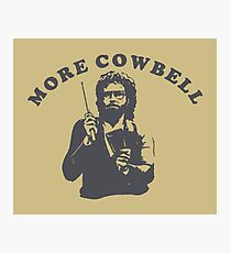 WILL FERRELL - MORE COWBELL Photographic Print