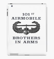 Airmobile Wings - 101st Airmobile - Brothers in Arms iPad Case/Skin