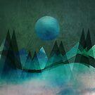 Mountain Moon by auroraarts1