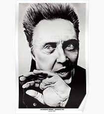 Christopher Walken - Ballpoint Pen Poster