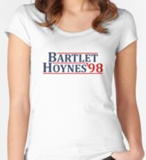 Bartlet and Hoynes 1998 Women's Fitted Scoop T-Shirt