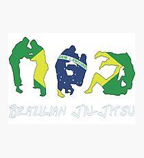 Brazilian Jiu-Jitsu Martial Arts Photographic Print