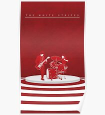 The White Stripes Tall Poster
