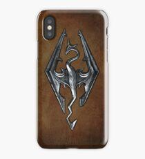 Skyrim Worn Leather Symbol iPhone Case/Skin
