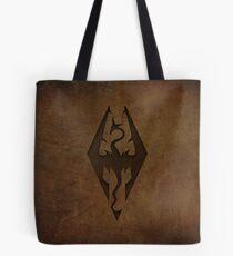 Skyrim Worn Leather Emboss Tote Bag