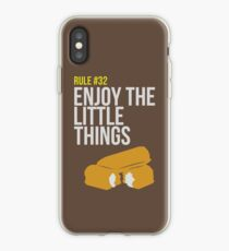 Zombie Survival Guide - Rule #32 - Enjoy the Little Things iPhone Case