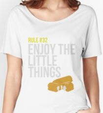 Zombie Survival Guide - Rule #32 - Enjoy the Little Things Women's Relaxed Fit T-Shirt