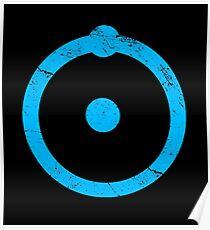 Doktor Manhattan Symbol Poster