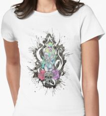 Rose'n Root Womens Fitted T-Shirt