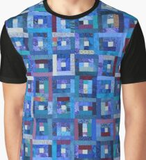 Blue Note Quilt Graphic T-Shirt