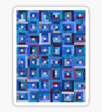 Blue Note Quilt Sticker