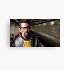 Half-life - Gordon Freeman Canvas Print