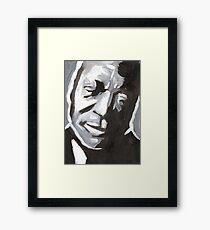 BB King Delta Blues Art Framed Print