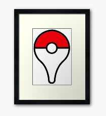 Pokemon Go!!! Framed Print