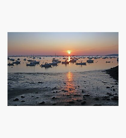 Sunrise at Plymouth Harbor  Photographic Print
