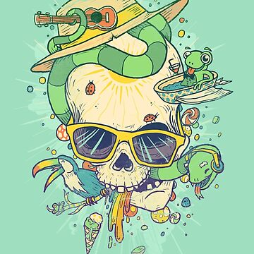 Summer skullin' by MathijsVissers