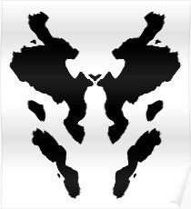 Rorschach Watchmen Poster