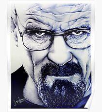 Heisenberg - ballpoint pen Poster
