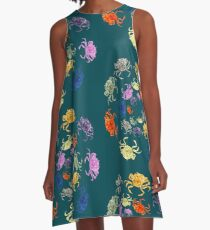Invasion of the crabs A-Line Dress