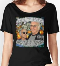 LARRY DAVID Women's Relaxed Fit T-Shirt