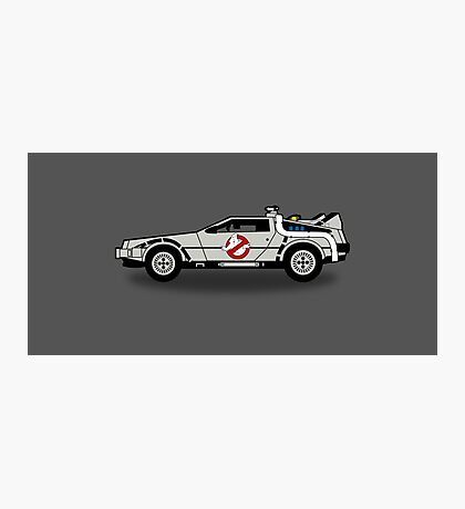 Ghostbusters To The Future! Photographic Print