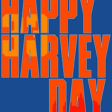 Happy Harvey Day In Orange by enfuego360