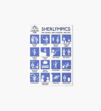 Sherlympics Art Board