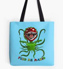 Feed Me Mario Tote Bag