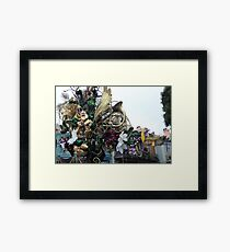 Holidays in New Orleans Square Framed Print