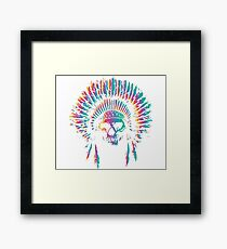 Skull Chief Framed Print