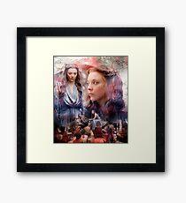 mercy queen Framed Print