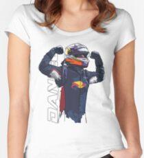 Daniel Ricciardo Women's Fitted Scoop T-Shirt