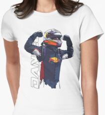 Daniel Ricciardo Womens Fitted T-Shirt